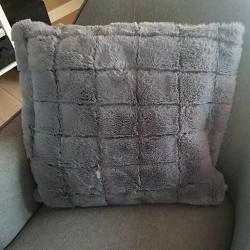 Jastučnica Fur siva 45X45cm
