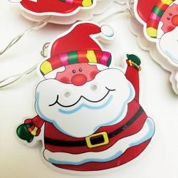 Lampice ukrasne Deda Mraz