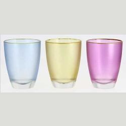 Čaše u boji 3 kom
