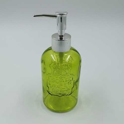 Stakleni dozer za sapun Zeleni