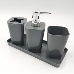 Set za kupatilo Sivi
