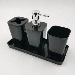 Set za kupatilo Crni