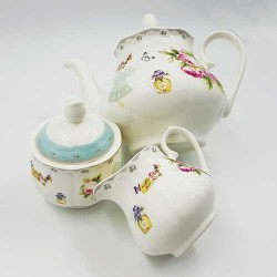 Set za čaj i kafu Leptirov cvet