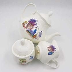 Set za čaj i kafu Začinski vrt