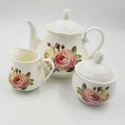 Set za čaj i kafu Cvetna ljubav