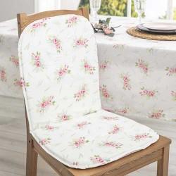 Jastuk za stolicu sa naslonom Beli